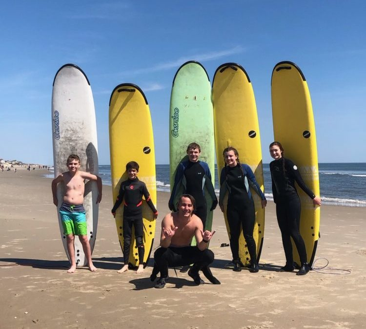 Surf Lessons Now Available